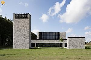 معماری و طراحی مرده سوز خانه