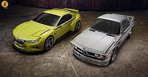 ساخت خودوری مفهومی BMW 3.0 CSL Hommage