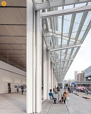 طراحی و معماری موزه ی هنر با پوسته ای مشبک