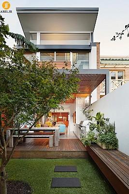 طراحی و معماری خانه ای سرشار از نور