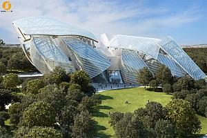 جدیدترین اثر معماری فرانک گری، بنای جدید لوئی ویتون در پاریس