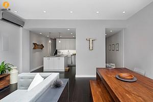 طراحی داخلی و بازسازی آپارتمان دوبلکس به سبک آمریکایی