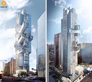 طراحی و معماری آسمان خراشی در شهر ونکوور