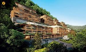 طراحی و معماری هتل والد