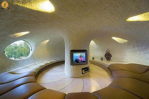 غیرطبیعیترین منازل جهان را به نظاره بنشینید
