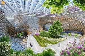 طراحی و معماری مجموعه ارکید چوبی