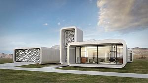 اولین ساختمان اداری ساخته شده توسط چاپگرهای سه بعدی، در دبی چاپ میشود