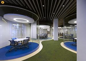 طراحی داخلی اتاق های جلسه شفاف