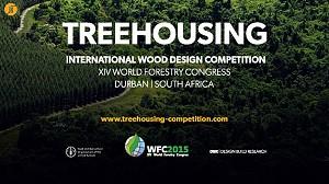 مسابقه بین المللی طراحی و معماری خانه درختی با سازه چوبی