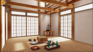 معماری ژاپن، کالبد سیال، الگوي زندگي