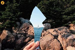خلاقیت: ثبت تصاویر جادویی با آیینه