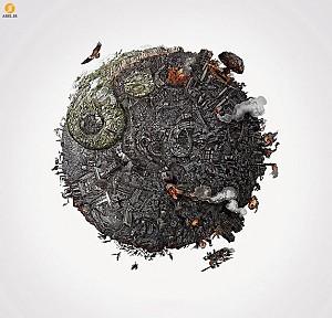 هنر : صدمه ای که ما بر محیط زیست وارد کردیم