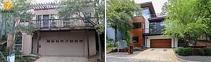 قبل و  بعد طراحی دکوراسیون خانه ای قدیمی مربوط به سال های 1980