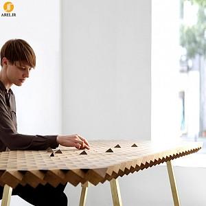 میزی کانسپچوال با نام Atlas Table