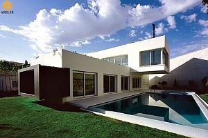معماری خانه ای به یاد رستم، سهراب رفعت