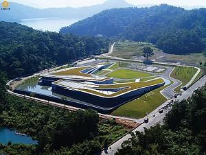 طراحی و معماری اداره ی گردشگری برای دریاچه ای توریستی در تایوان