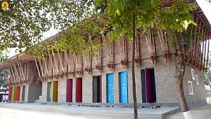 معماری زمینه گرا: طراحی مدرسه ی METI در بنگلادش