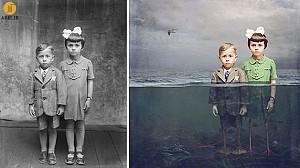 خلق تصاویر هنرمندانه از عکس های قدیمی رومانیایی