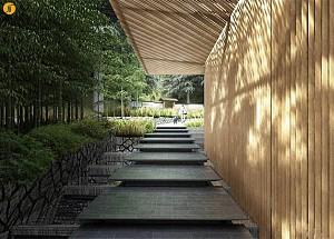 معماری منظر باغ ژاپنی پورتلند در آمریکا