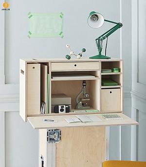 طراحی میز مطالعه قابل حمل و جا به جایی