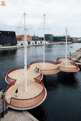 معماری شهری : طراحی پل برای عابرین پیاده