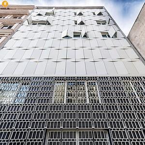 معماری ساختمان اداری آب ورزان، رتبه دوم بخش عمومی جایزه معمار 93
