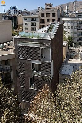 معماری ساختمان مسکونی ایلخانه، رتبه دوم جایزه معمار 93