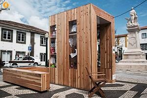 طراحی و معماری کیوسک برای فروش صنایع دستی