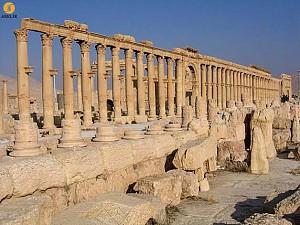 از بین رفتن میراث معماری کشور سوریه در اثر جنگ