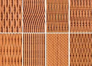 معرفی متریال: پانل های بامبو