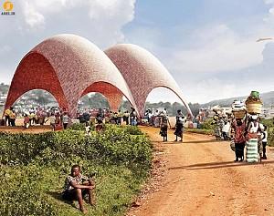 معماری زمینه گرا: طراحی فرودگاهی برای هواپیماهای بی سرنشین در آفریقا