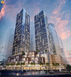 معماری کانسپچوآل برجی مسکونی در دبی