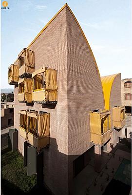 معماری اقامتگاه کودکان بی سرپرست، رتبه اول جایزه معمار93 در بخش عمومی