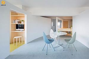 طراحی داخلی آپارتمان به سبک دکوراسیون مینیمال ژاپنی
