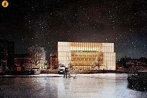 طرح جدید ساختمان جوایز نوبل در استکهلم