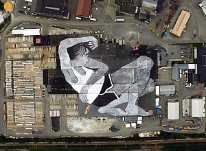 اجرا بزرگترین طراحی و  نقاشی شهری جهان در فستیوال هنر نروژ