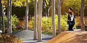 طراحی پارکی در طبقه ی دوازدهم برجی مسکونی