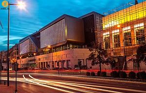 معماری مرکز تفریحی Souks
