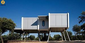 طراحی خانه ای مانند سفینه فضایی
