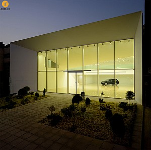 معماری نمایشگاه تهرانپارس، برنده جایزه معمار 93