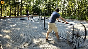 معماری منظر: طراحی باغی با الهام از مکتب ذن