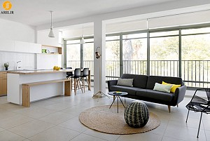 طراحی داخلی آپارتمان در 70 متر مربع