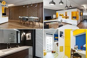 بازسازی و دکوراسیون داخلی آپارتمان برای یک پدر و پسر