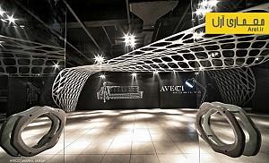 طراحی نمایشگاه مبل آویچی