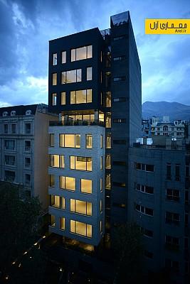 طراحی ساختمان مسکونی BW7، رتبه سوم جایزه معمار 94