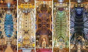 دیافراگم: تصاویر پانوراما از کلیساهای نیویورک