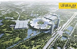 معماری و طراحی  مرکز ملی نمایشگاهی ویتنام