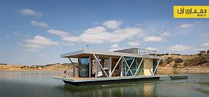 معماری و طراحی پایدار خانه ی شناور