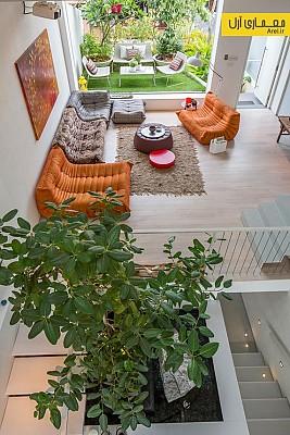 معماری سبز: طراحی خانه ای در تعامل کامل با طبیعت