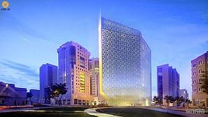 نقوش معماری اسلامی، منبع الهام معماری هتل Shaza در دوهه